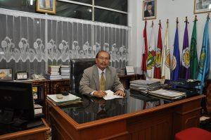 Rektor Universitas PGRI Dr H Syarwani Ahmad, MM