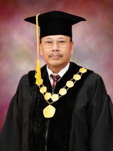Rektor Universitas PGRI Palembang, Drs H Syarwani Ahmad, MM