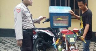 Astaghfirullah.. Pemuda Ini Curi Kotak Amal untuk Modifikasi Motor