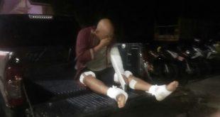 Satu Lagi, Komplotan Perampok Toko Emas Muaraenim Ditembak Aparat