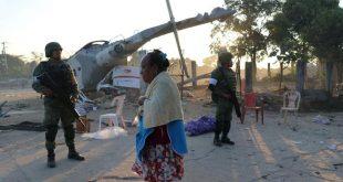 Helikopter yang Ditumpangi Menteri Dalam Negeri Meksiko Jatuh, 13 Orang Tewas