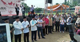 4 Pasang Cawako & Cawawako Palembang Komitmen Junjung Kampanye Damai