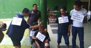 Polda Sumsel Rekonstruksi Pembunuhan Bos Kafe di Ogan Ilir