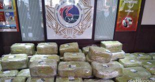 Polri: Ada Penerima Sabu 1,6 Ton di Indonesia