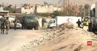 Ghouta Timur Memanas, Rusia Sebut 48 Ribu Warga Telah Dievakuasi