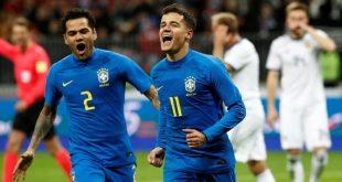 Brasil Gasak Rusia 3-0, Spanyol Main Imbang dengan Jerman