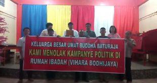 Sejumlah Tokoh Agama OKU Serukan Tolak Kampanye Politik di Tempat Ibadah