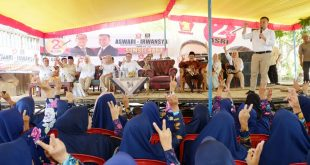 Aswari-Irwansyah Akan Perbaiki Sekolah Gratis dan Infrastruktur di Sumsel