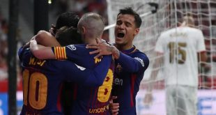 Gilas Sevilla 0-5, Barcelona Juara Copa del Rey