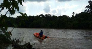 Asyik Bermain, Bocah Terpeleset dan Hanyut di Sungai Enim