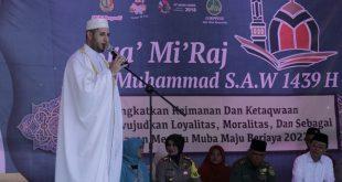 Beni Ajak Jajaran di Pemkab Muba Tingkatkan Ukhuwah Islamiyah