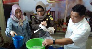 Shabu Hasil Operasi Penggrebekan 'Undercover Buy' Polwan Diblender Petugas