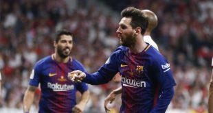 Barcelona Juara Copa del Rey, Messi dan Suarez Cetak Rekor
