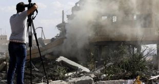 AS Sebut Sistem Pertahanan Suriah Gagal Rontokkan Ratusan Rudal