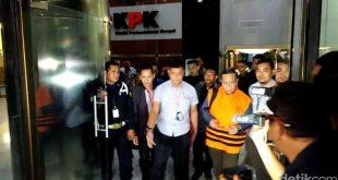 Empat Tersangka Dijebloskan KPK di Rutan Berbeda
