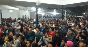 Ribuan Pecinta Bola Serbu Nobar NanSuko