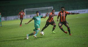 Dibungkam Perseru Serui, Sriwijaya FC Gagal Naik ke Papan Atas