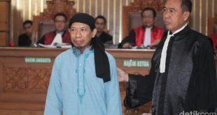 Tok! Aman Abdurrahman Divonis Hukuman Mati