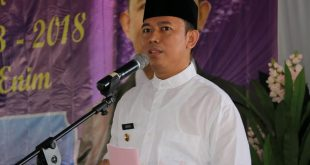 Penjabat Bupati Muaraenim, Teddy Mellwansyah