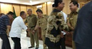 Kuryana Pimpin Halal Bihalal Pemkab dan DPRD OKU