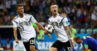 Dramatis, 10 Pemain Jerman Kandaskan Swedia 2-1
