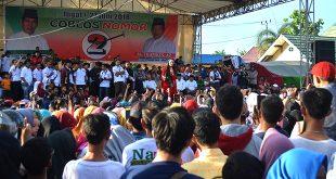 Siti Badriah Meriahkan Kampanye NATHA di Kelurahan Muaraenim