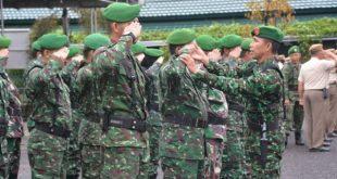 Prajurit Dan PNS Korem 044/Gapo Gelar Minggu Militer